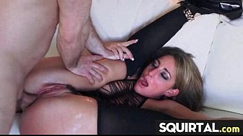 squirts ass she until fucked Pervert tricks naive girl2