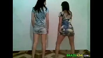 mature brazilian fat girl Two cruel mistresses piss and shit on poor slave