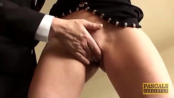 his fucked the in ass dick of cum whyll squirts getting out Panty piss tease