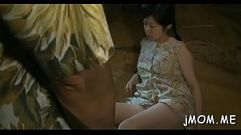 milf miki asada her gets and fucked Guy masturbating while woman is cleaning the kitchen