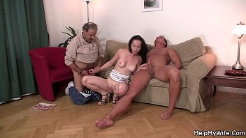 looks his husband wife fucked She eats her own creampie compilation