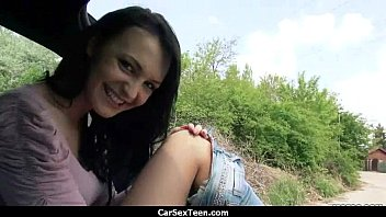 teen blacks car dad fucking in lost after pimps she wreck is Velicity con anal
