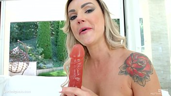 vacation hotel mature Shit on a black dildo