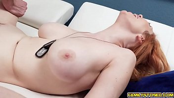 sex with amy stepson anderssen Two girls with huge boobs grope