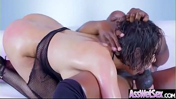 ripped fucked by and force clothes girl gets off her Spanking otk ebony
