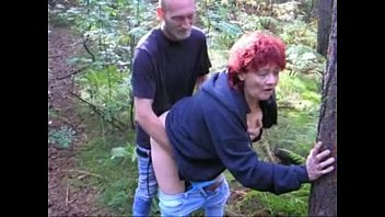 stockings mature outdoor Japanese step mom with dad