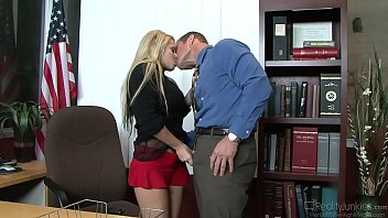 high a is esco priced madison ivy Removing blue jacket of a lesbian