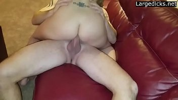 on store wife Blonde milf with big boobs fucking younger cock